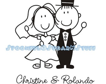Personalized Bride & Groom Shirt