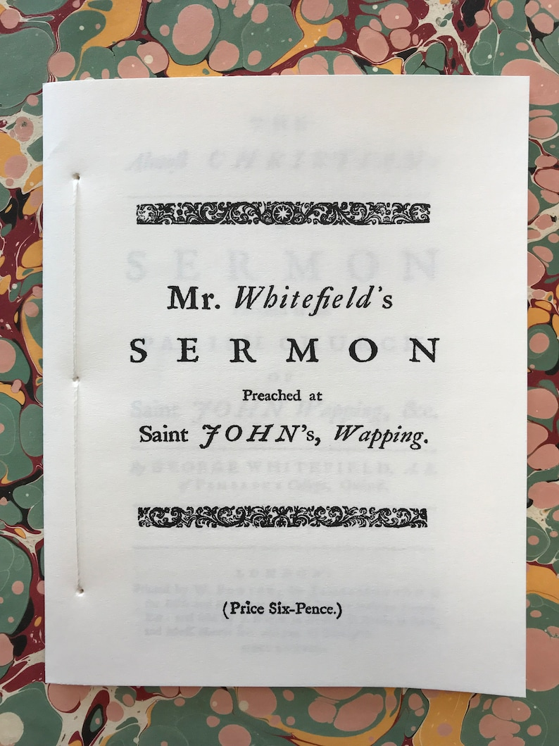 The Almost Christian by the Rev. George Whitefield 1738 image 0
