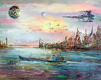 Fantasy Harbor Art