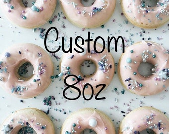 8oz Custom Sprinkle Mix Design your own mix