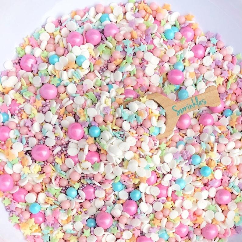 Sprinkles / Edible Sprinkles / Custom Sprinkles / Sprinkle Mix / custom  sprinkles / Pastel Sprinkles / Star Sprinkles / 8oz