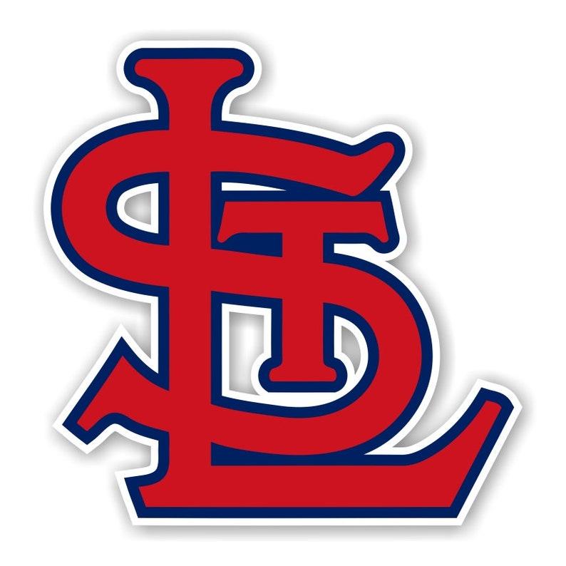 St Louis Cardinals StL Precision Cut Decal image 0