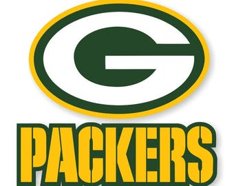 Green Bay Packers (Larger Size ) Decal / Sticker Die cut