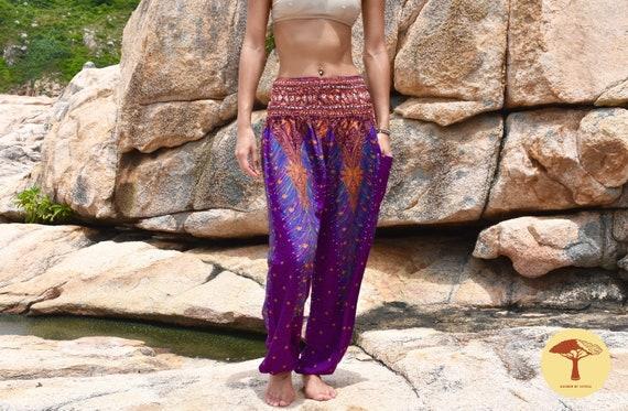 Harem Pants Women Boho Mandala Hippie Men Trousers Africa Festival Beach Trousers Yoga Pants Elephant Thailand Bohemian