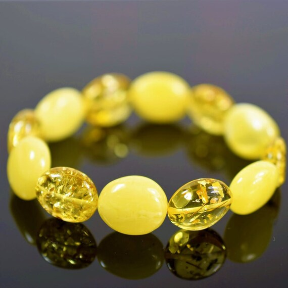 Amber bracelet,egg yolk amber, Bernstein Armband, butterscotch amber, milky amber, white amber, 琥珀色 certificated Amber jewellery