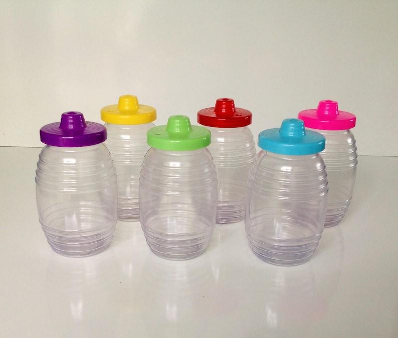 Set of 30 Mexican Vitroleros 16 ozs Aguas Frescas Plastic Vitrolero  Drinking Containers 5 5
