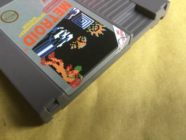 Nes  Metroid fan made hand made game free region hand made