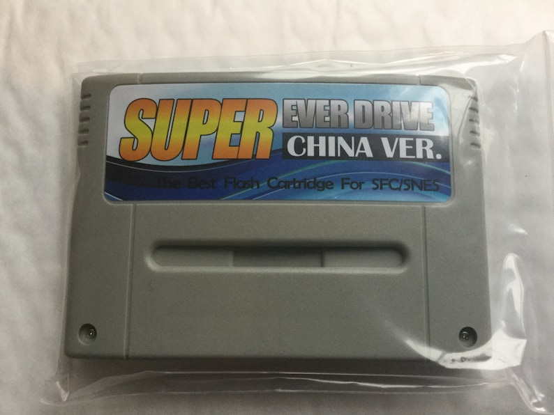 Everdrive snes super nes ed everdrive cart plus 8 gig sd card