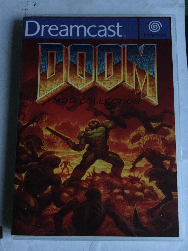 Sega dreamcast doom mod collection hombrew 2 disc set aliens tc and tonnes  more