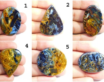 Natural African Pietersite Gemstone Cabochon Pietersite Cabochon Loose Jewelry Stone