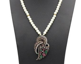 Turkish vintage pendant necklace for women
