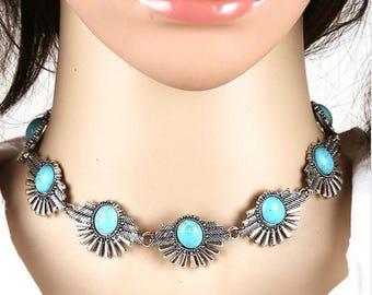 Turkish vintage choker necklace