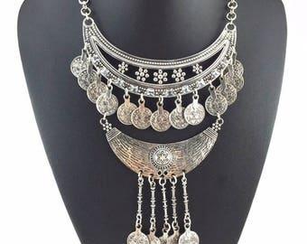 Turkish long choker necklace