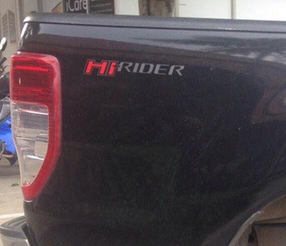 2 Hi Rider Ford Ranger Car Decals Stickers Bumper Vinyl Etsy