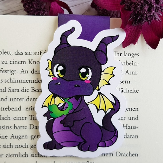 Magnet Bookmark Maleficent Baby Dragon