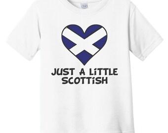 Funny Themed Baby Grow Britain Scotland 50/% BRITISH 50/% SCOTTISH 100/% ME