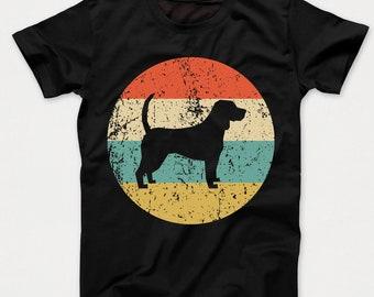 I Love My Beagle Girl Heather Grey Adult T-Shirt