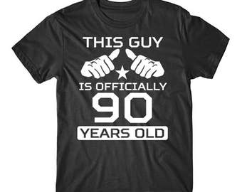 90th Birthday Shirt For Men
