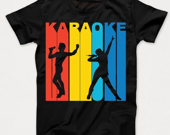 Retro 1970's Style Karaoke Singer Kids T-Shirt by Really Awesome Shirts