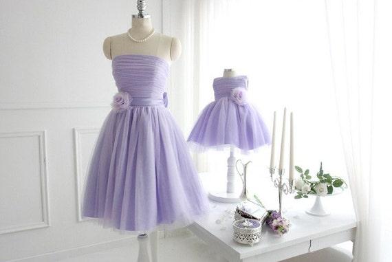 Mutter Tochter passende Kleid violett Mami und mir Tutu Kleid | Etsy
