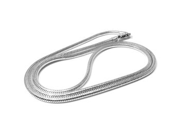 Snake Necklace Silver 2.0 mm