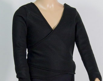Black heart cover in fleece or other colors for classical or modern'jazz dance