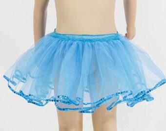 jupe tutu de tulle  pour petite fille de 6 ans