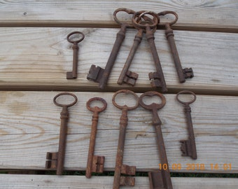 Wedding Key Love Token Antique Furniture Key Ornate Brass Key Wedding Token Antique Steampunk Key Antique French Brass Key