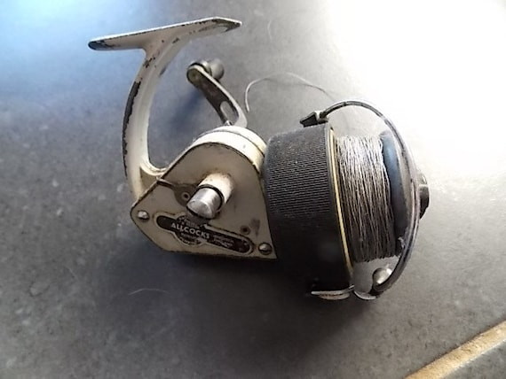Allcocks Delmatic fishing reel collectable vintage fishing gear