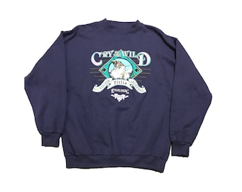Vintage Cry of the Wild Ski Hill Sweater Size (Large)