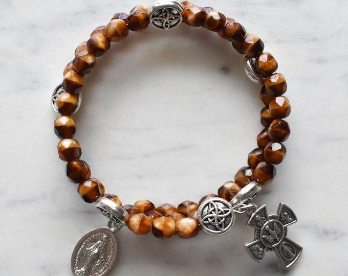 rosary wrap bracelet   Louis
