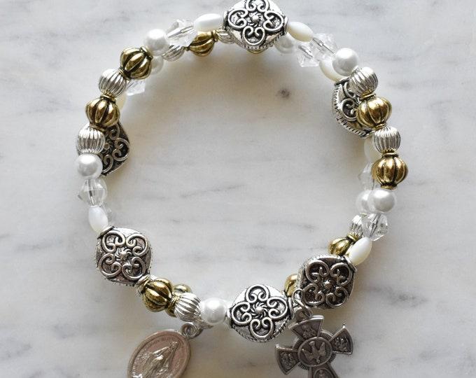rosary wrap bracelet | Chiara Luce