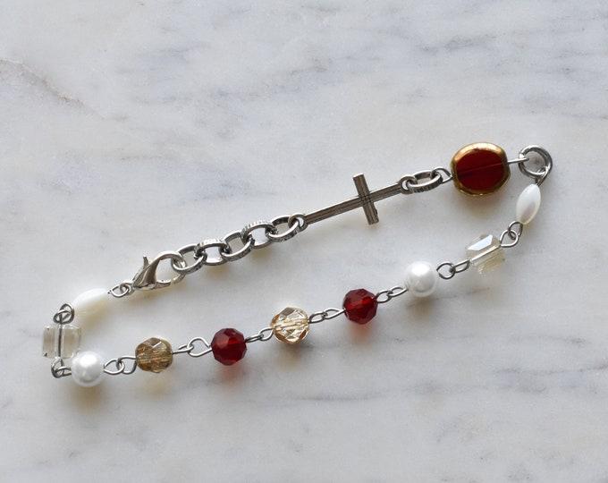 chaplet rosary bracelet | Magdalene