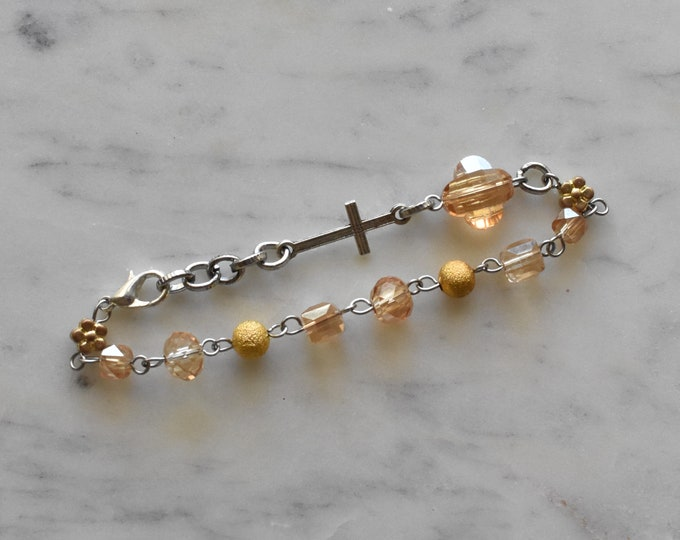 chaplet rosary bracelet | Lucy