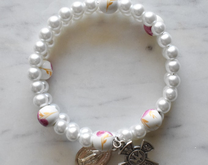 rosary wrap bracelet | Therese