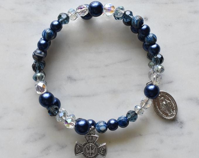 rosary wrap bracelet   Angela