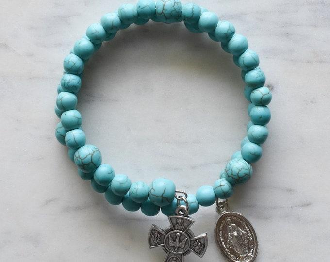 rosary wrap bracelet | John