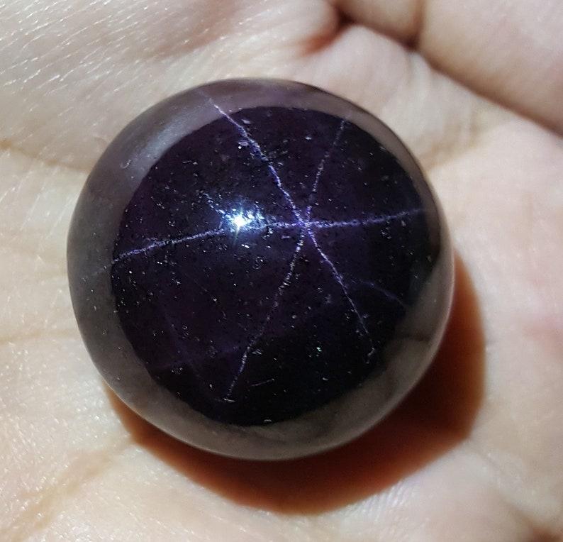 237 Ct Natural Untreated Super 6 Ray Star Garnet Huge Cabochon Shape  Loose Gemstone Natural Garnet Pendant Size Chrisrmas Sale SW 114