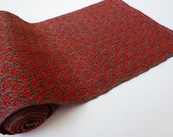 Handwoven Linen Table Runner