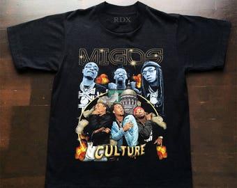 Migos Culture Hip Hop T Shirt