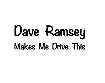 Dave Ramsey Quotes Etsy