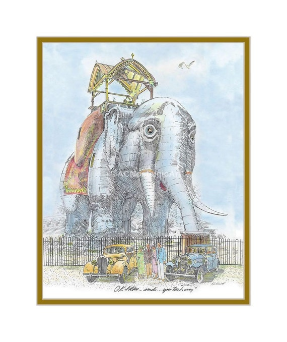 Lucy the Elephant, 1920s