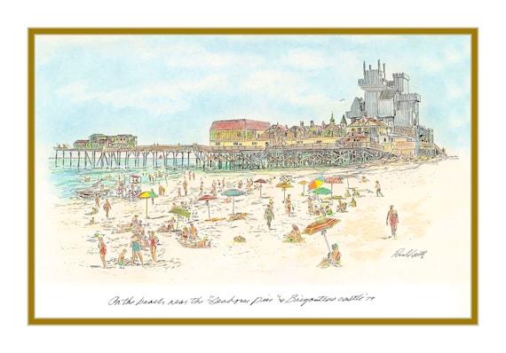 Brigantine Castle and Seahorse Pier 1979