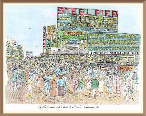 Benny Goodman at The Steel Pier, 1941
