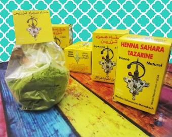Moroccan Henna Sahara Tazarine 100gr superior quality 100%natural