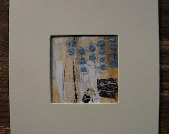original mixed media art cards