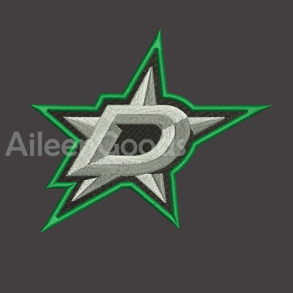 Dallas Stars Embroidery Design 6 Size Instant Download Etsy