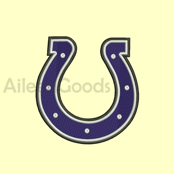 Indianapolis Colts Embroidery Design 7 Size Instant Download Etsy