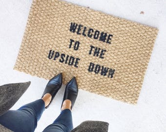 Doormat custom.stranger things.door mat.custom doormat.doormat funny.doormat personalized.custom door mat. welcome mat.doormat hi. door mat