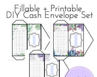 graphic regarding Free Printable Money Envelopes titled FILLABLE PRINTABLE Hard cash Envelopes Do it yourself Cash Envelopes Dave